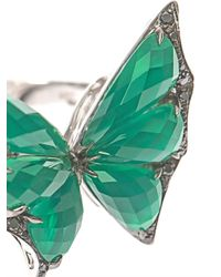 Stephen Webster - Diamond Greenquartz and Gold Ring - Lyst