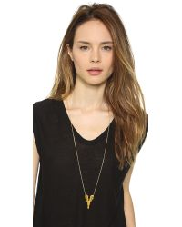 Maria Black - Metallic 1925 Necklace - Gold - Lyst