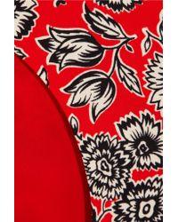 J.Crew - Red Showater Reversible Bikini Briefs - Lyst
