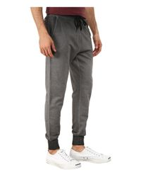 Converse | Gray Black Wash French Terry Pants for Men | Lyst