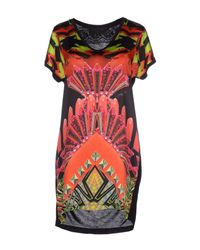 Philipp Plein - Red Short Dress - Lyst