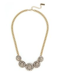 BaubleBar - Metallic Crystal Zodiac Necklace - Lyst