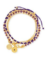 Astley Clarke | Purple A World Undiscovered Charm Bracelets | Lyst