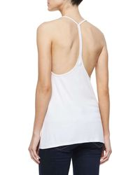 Haute Hippie - White Scoop-neck Sleeveless Camisole - Lyst