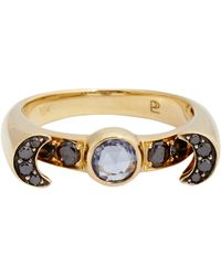 Pamela Love - Metallic Luna Ring - Lyst