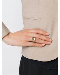 Rosa Maria | Metallic 'Mina' Ring | Lyst