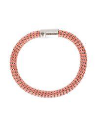Carolina Bucci - Orange Twister Bracelet - Lyst