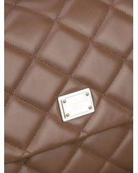 Dolce & Gabbana | Brown Quilted Shoulder Bag | Lyst