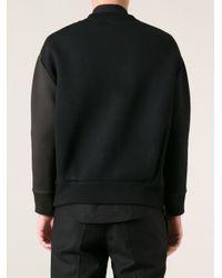 Neil Barrett - Black Lightning Print Sweater for Men - Lyst