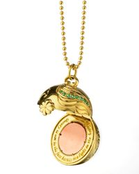 Monica Rich Kosann | Metallic Venus Inner Beauty 18K Gold Charm Necklace | Lyst