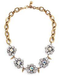 Lulu Frost | Metallic Signet Necklace | Lyst