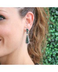Inbar - Green Tourmaline Drop Earrings - Lyst