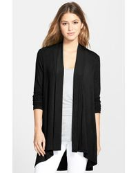 Bobeau | Black Long Cardigan | Lyst