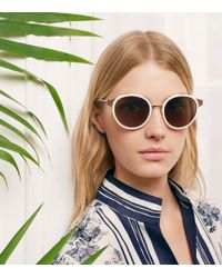 Tory Burch - Pink Marais Sunglasses - Lyst