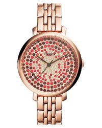 Fossil | Metallic 'jacqueline' Bracelet Watch | Lyst