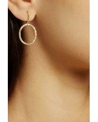 Ileana Makri - Metallic Mini Again 18-Karat Gold Diamond Earrings - Lyst