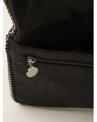 Stella McCartney - Black Embellished Falabella Clutch - Lyst