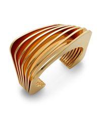 Vita Fede | Metallic Futturo Bracelet/goldtone | Lyst