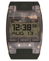 Nixon | Black 'comp' Digital Watch | Lyst