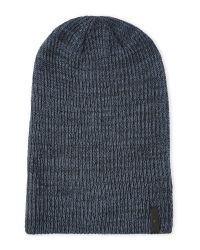 Timberland | Blue Slouchy Knit Beanie for Men | Lyst