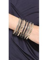 Nina Ricci - Multi Bracelet Cuff - Black - Lyst