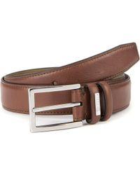 Ted Baker | Jollent Leather Belt Brown for Men | Lyst