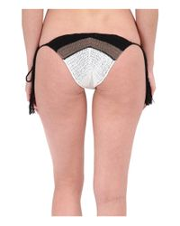 Vitamin A - Black Nightbird Tie Side Bottoms - Lyst