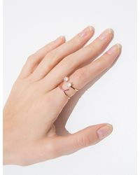 Pixie Market - Pink Happiness Diamond Ring - Lyst