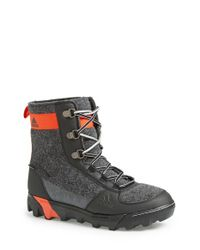 Adidas | Black 'felt' Snow Boot for Men | Lyst
