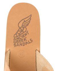 Ancient Greek Sandals | Natural Thais Leather Platform Sandals | Lyst