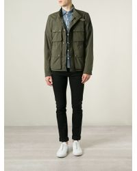 Belstaff | Green 'Barningham' Jacket for Men | Lyst