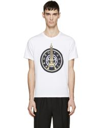 KENZO - White Eiffel Tower T-shirt for Men - Lyst
