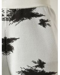 Acne Studios   Natural 'jackie Splat' Shorts   Lyst