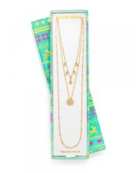 BaubleBar - Metallic Coin Layer It On Gift Set - Lyst