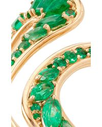 Fernando Jorge - Green Stream Open Ring In Emeralds - Lyst
