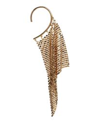Cheap Monday | Metallic Gold Mesh Ear Cuff | Lyst