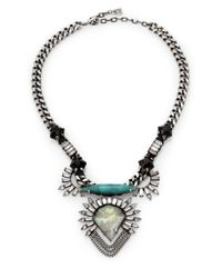 DANNIJO | Metallic Arley Pendant Necklace | Lyst