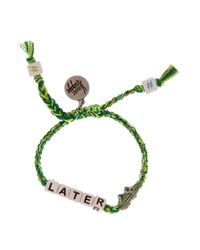 Venessa Arizaga - Green Later Gator Bracelet - Lyst
