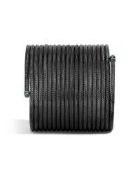 John Hardy | Black Classic Chain Large Coil Bracelet | Lyst