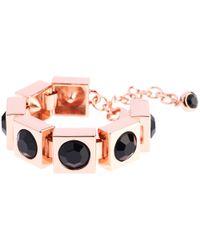 Ted Baker | Pink Oleska Square Crystal Bracelet | Lyst
