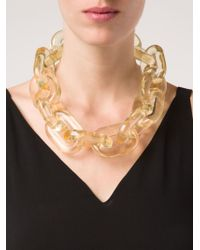 Stella McCartney | Yellow 'bijoux Butter Plexi' Necklace | Lyst