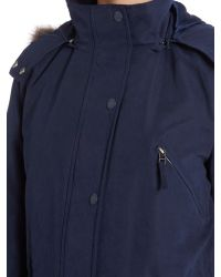 Cloud Nine - Blue Wadded Parka Jacket - Lyst