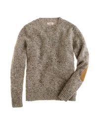 J.Crew | Natural Wallace & Barnes Donegal Wool Sweater for Men | Lyst