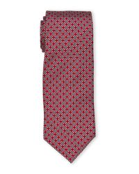 Pierre Cardin - Red Square-Link Tie for Men - Lyst