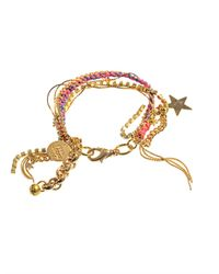 Venessa Arizaga | Metallic Let The Good Times Roll Bracelet | Lyst