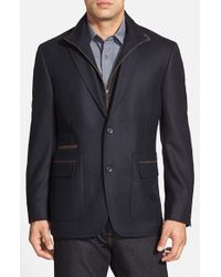 Kroon | Blue 'p. Funk' Classic Fit Wool & Cashmere Sport Coat for Men | Lyst