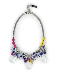 Rada' - Purple Necklace - Lyst