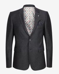 Ted Baker | Gray Debonair Wool Jacket for Men | Lyst