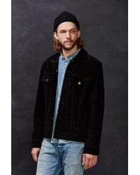 Deus Ex Machina - Black Django Suede Jacket for Men - Lyst