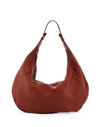 Mr. - Brown Freida Zip Hobo Bag Cognac - Lyst